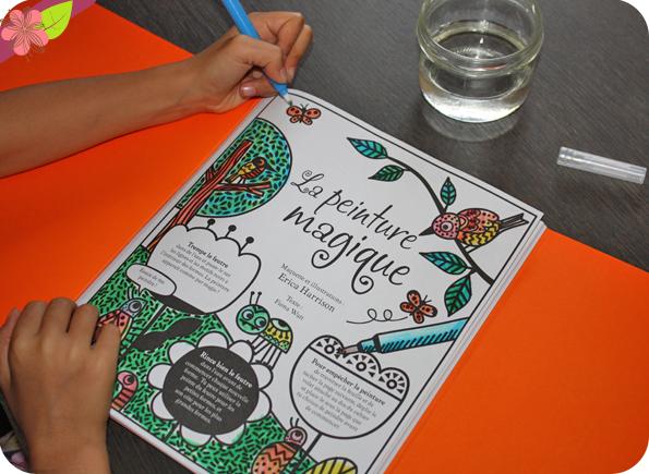 La peinture magique - éditions Usborne