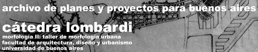 archivo de planes y proyectos para buenos aires