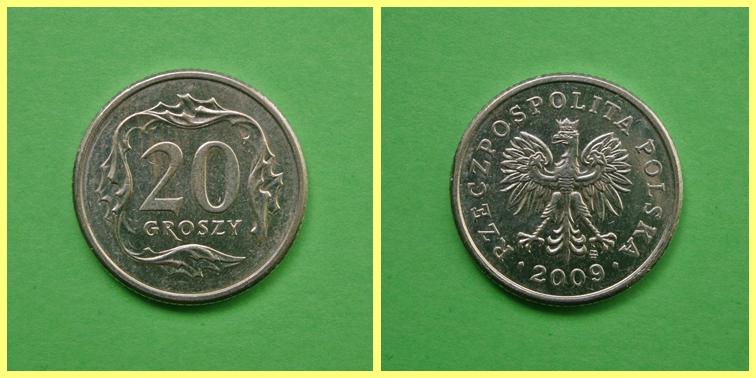 0.20 Zloty Polonia