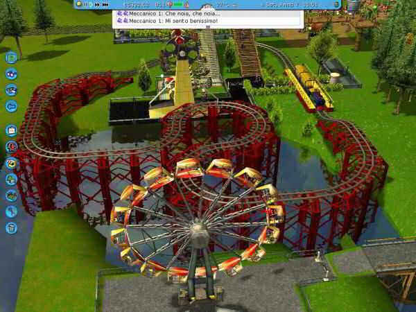 Roller Coaster Tycoon 3 Platinum - PC Karelia - Identi