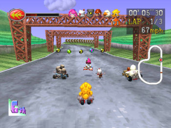 Chocobo Racing - Page 2 Chocobo+Racing-PSX-NTSC