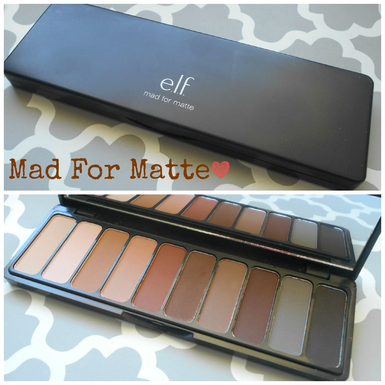 Elf matte eyeshadow palette