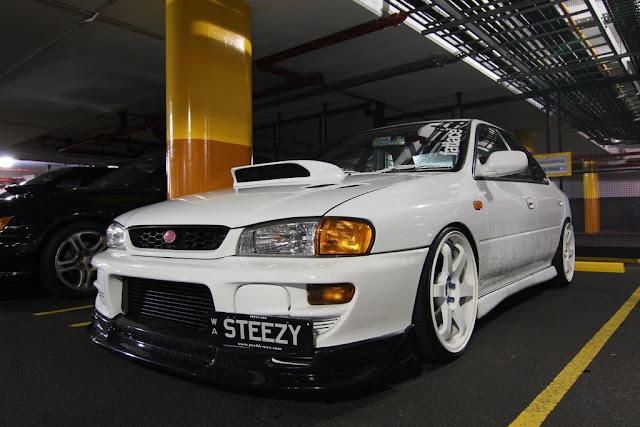 Subaru Impreza I GC japoński sportowy sedan