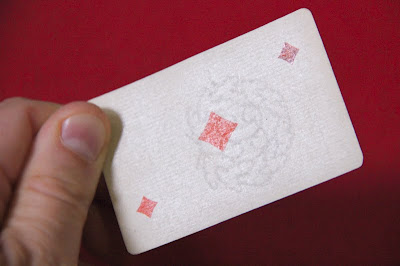 Fake antique playing cards