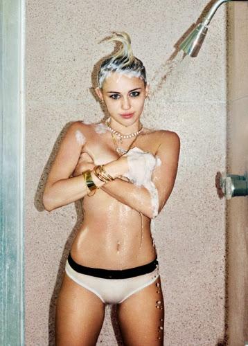Fotos de Miley Cyrus para a Rolling Stone