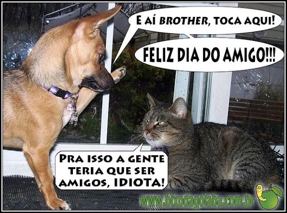 Feliz Dia do Amigo pra quem é amigo!