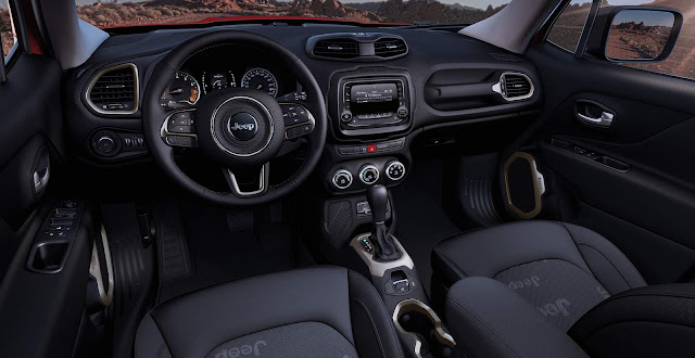 Jeep Renegade 1.8 Flex Automático - Interior
