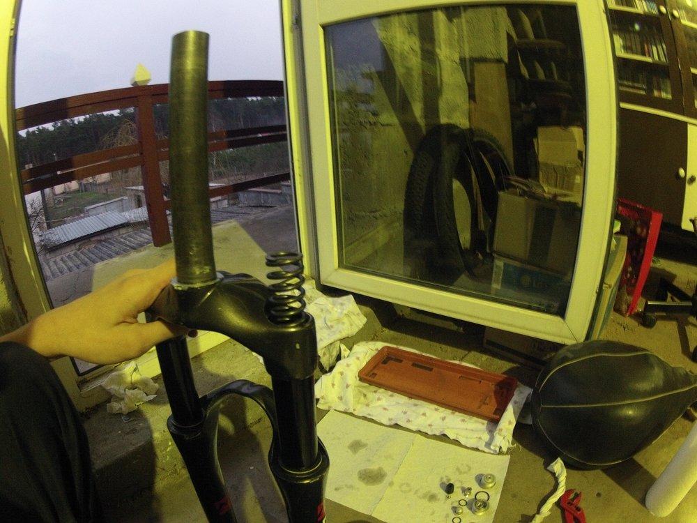 Marzocchi Drop Off 3 TA 150 2006 Service Serwis