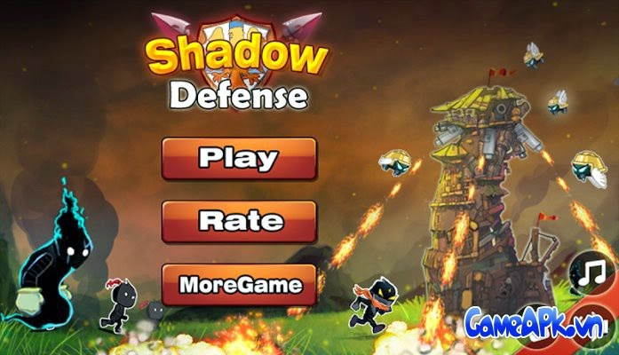 Shadow Defense v1.2.2 hack full tiền cho Android