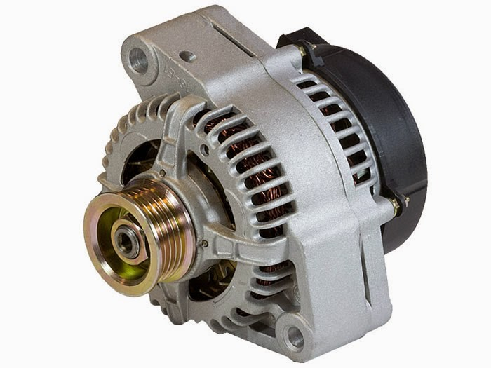 how to turn a car alternator into a generator