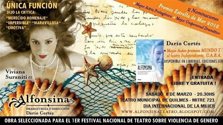 ALFONSINA de Darío Cortés