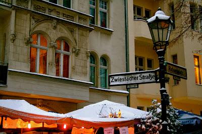 Marché de noël berlinois d'Alt Rixdorfer sur la Richardplatz