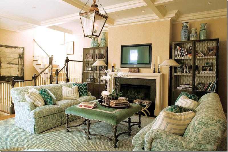 Beige Fabric Elegant Modern Sectional Sofa