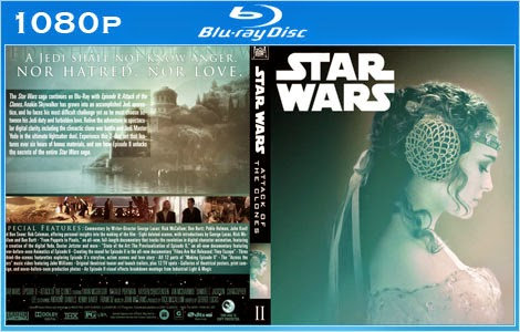 Baixar Stars Wars   Episódios I, II e III 1999 a 2002 Bluray 1080p Dual Áudio