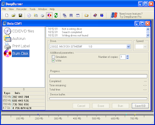 Free Download DeepBurner CD and DVD Tools Burning Software