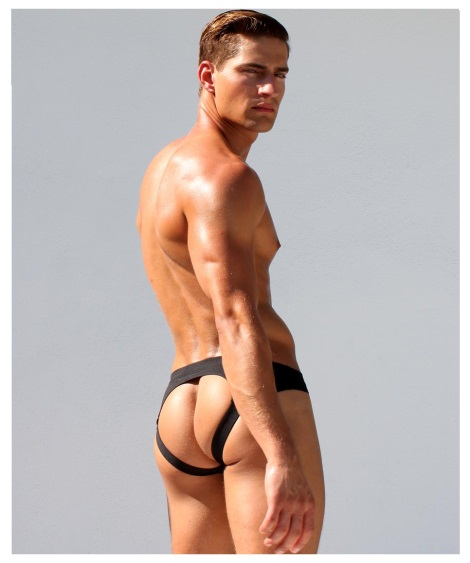 Rufskin Ruf-letic Track Jockstrap from behind