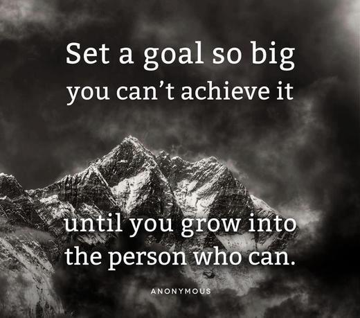 ryan in boise set a goal so big you can 39 t achieve it