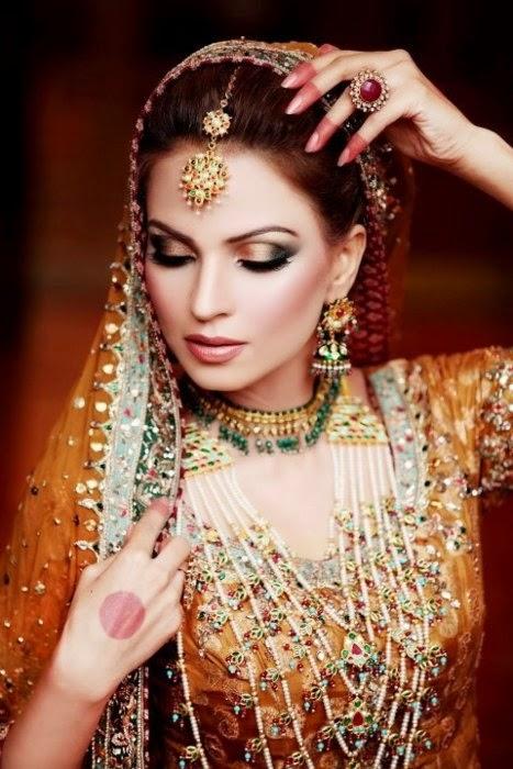 New Wedding Makeup : new Bridal makeup look 2015 ~ Just Bridal