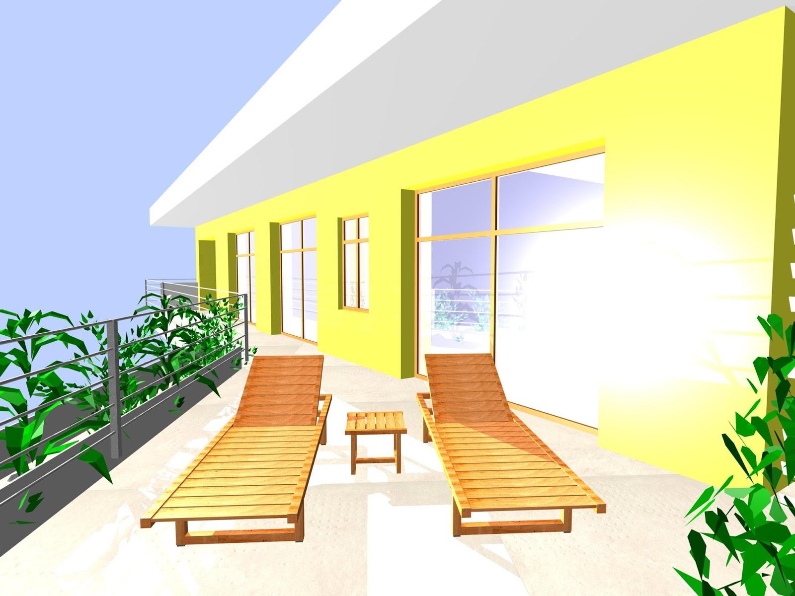 ed architettura arredo esterno in legno
