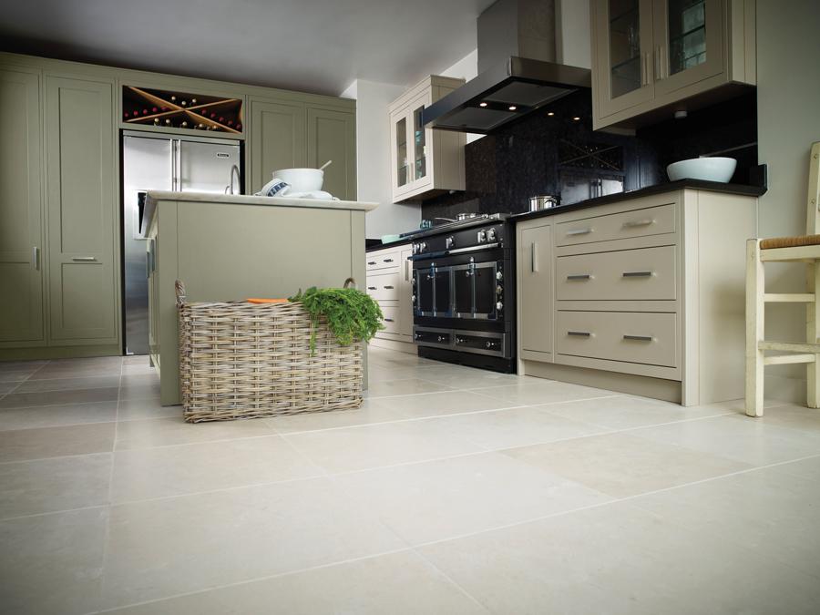 limestone flooring kitchen