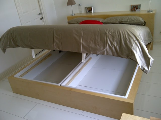 Space Saving Storage Bed Hack Perfect for NYC Apartments