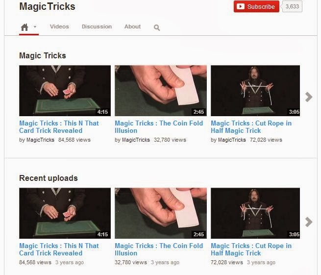 MagicTricks – YouTube