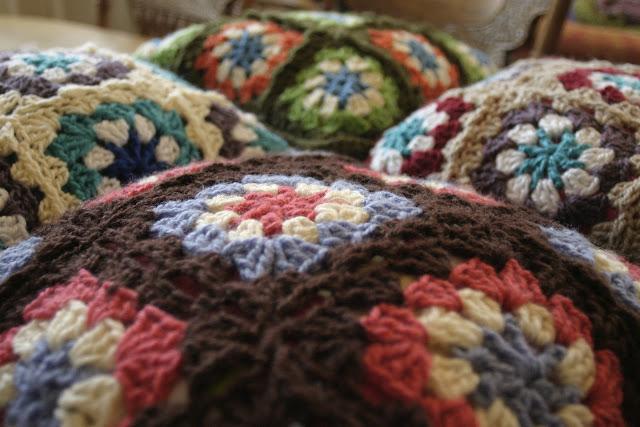 Recortes y retazos cojines de lana - Cojines de lana ...