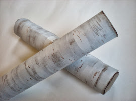 DIY birch branch packaging