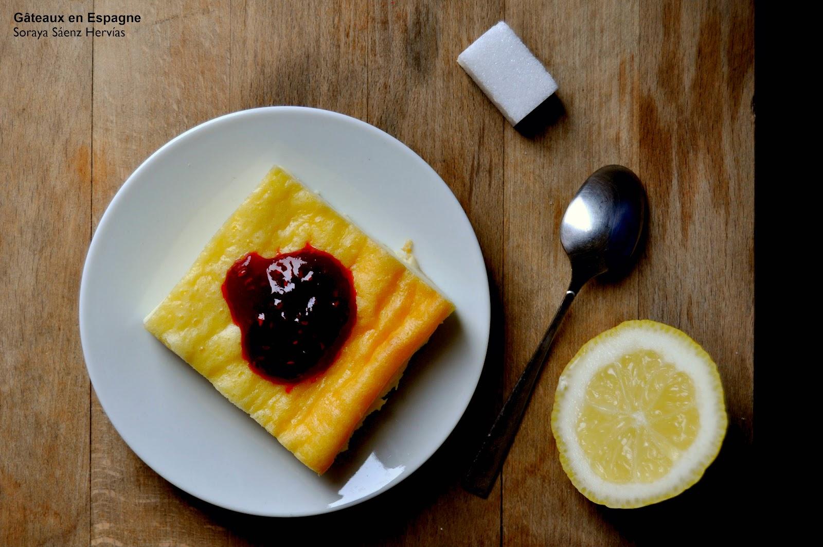 recette gâteau fromage citron