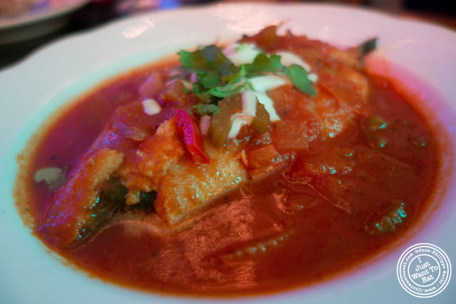 image of chile relleno at El Maguey Y La Tuna on the Lower East Side, NYC, New York