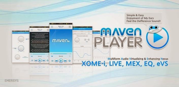 MAVEN Player APK FULL v1.24.91