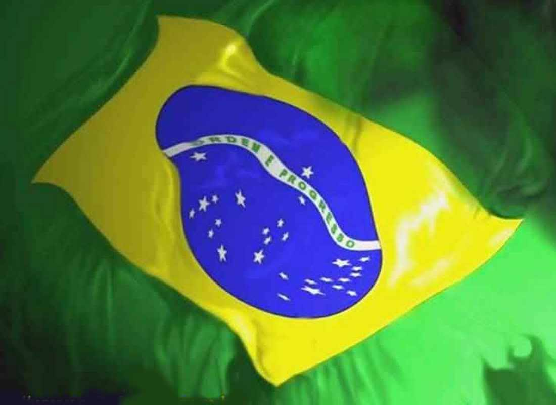 Graphics Background Image Wallpaper of Brazilian Flag