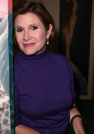 Famous actress Carrie Fisher has bipolar disorder