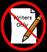 Not Writers Only