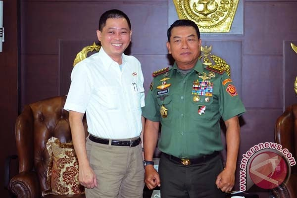 Menhub temui Panglima TNI bahas objek vital