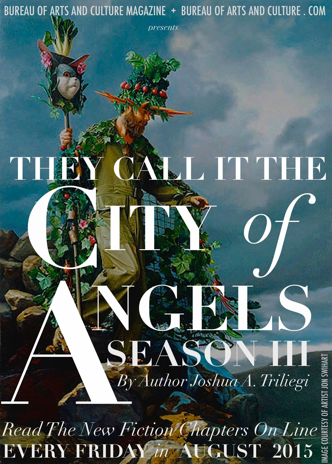 THEY CALL IT THE CITY OF ANGELS : PARTS 1 + 2 THE NEW FICTION PROJECT