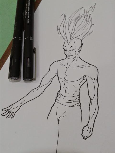 desenho tradiciona / traditional drawing