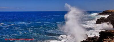 Belle photo de couverture facebook mer agitée