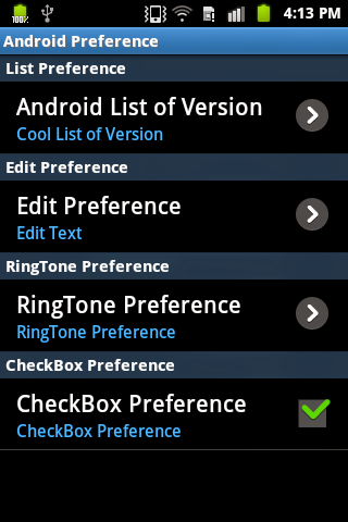 how to delete preferences in android