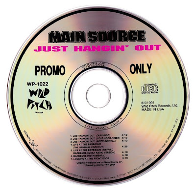 Main Source – Just Hangin' Out (Promo CDS) (1991) (192 kbps)