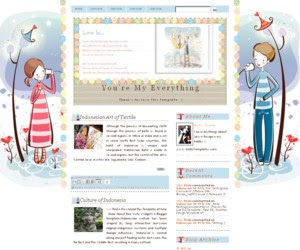 Youre My Everything Blogger Template