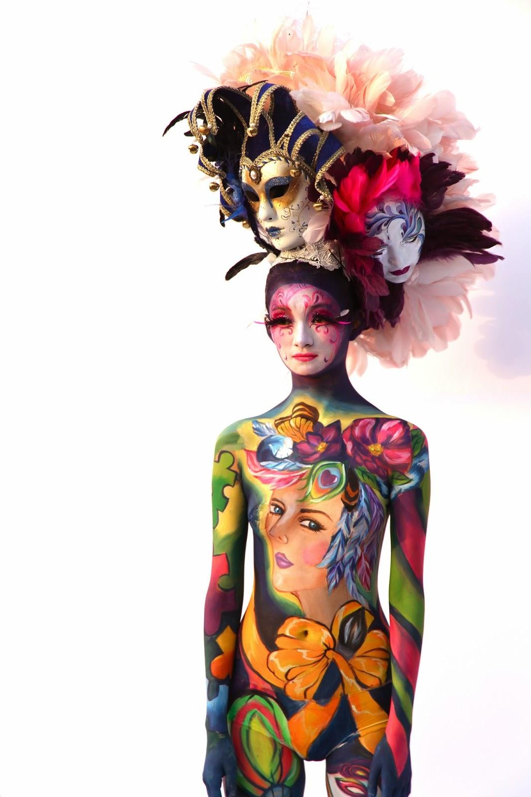Festival International De Body Painting Daegu
