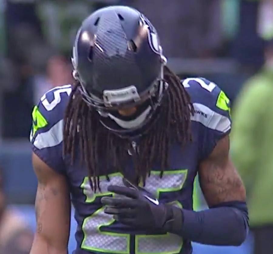 Lynch Seattle Seahawks Football NFL