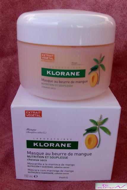 mascarilla mango klorane