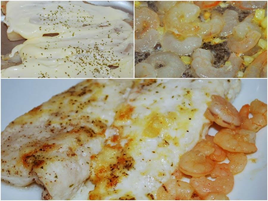 Merluza al horno con mayonesa cocina for Merluza al horno facil