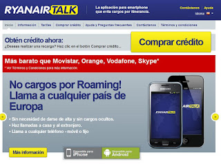 Opinion Roaming Internacional Ryanair Talk