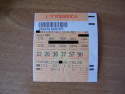 17-FEB.2011VINTA QUATERNA  6 NUMERI DI 8.000 EURO ABBIAMO SFIORATO LA CINQUINA DA 1 MILIONE DI EURO