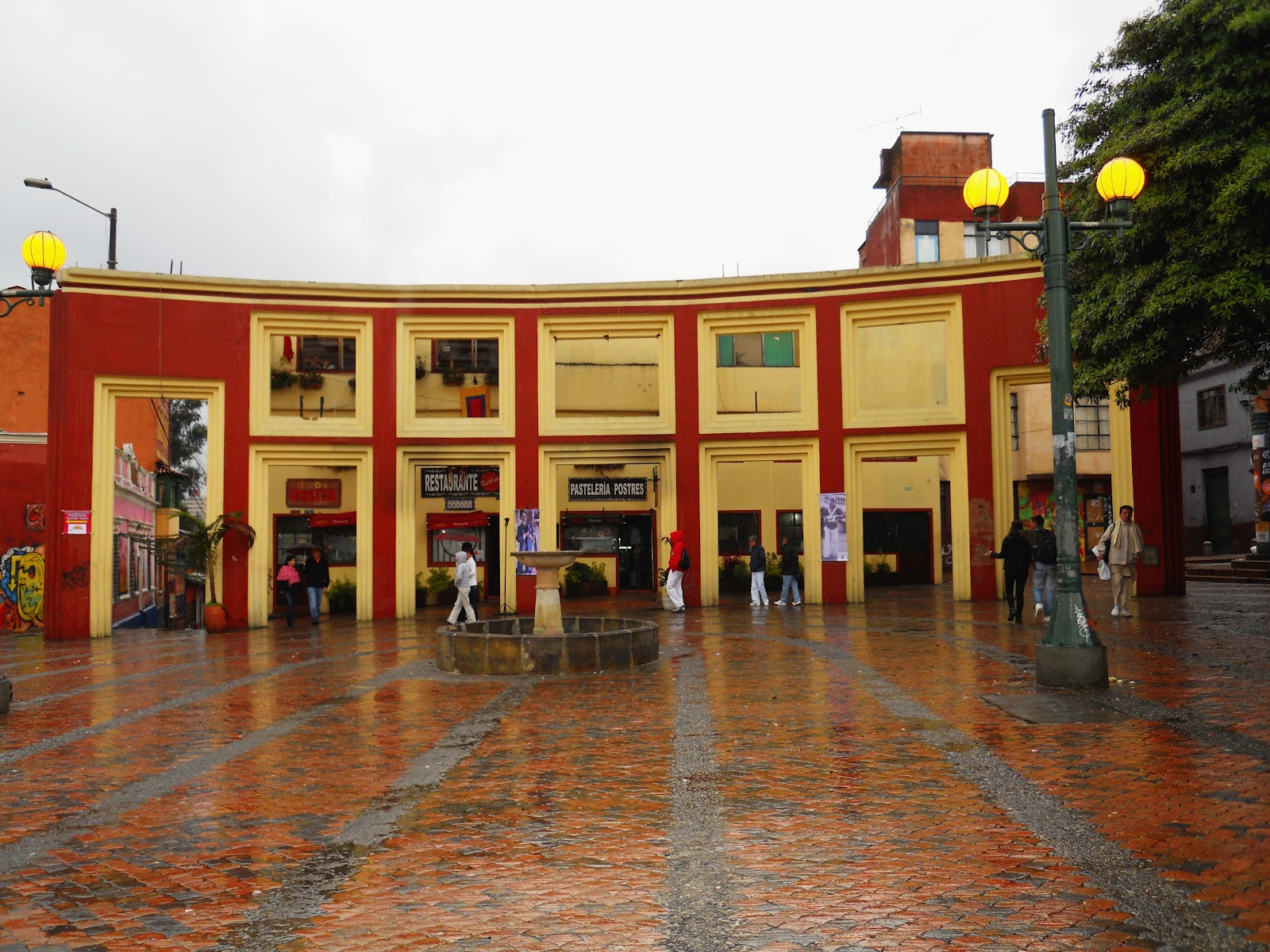 Cae banda que vendía estupefacientes en el Chorro de Quevedo en Bogotá