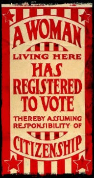 1920 Missouri Suffrage Flyer