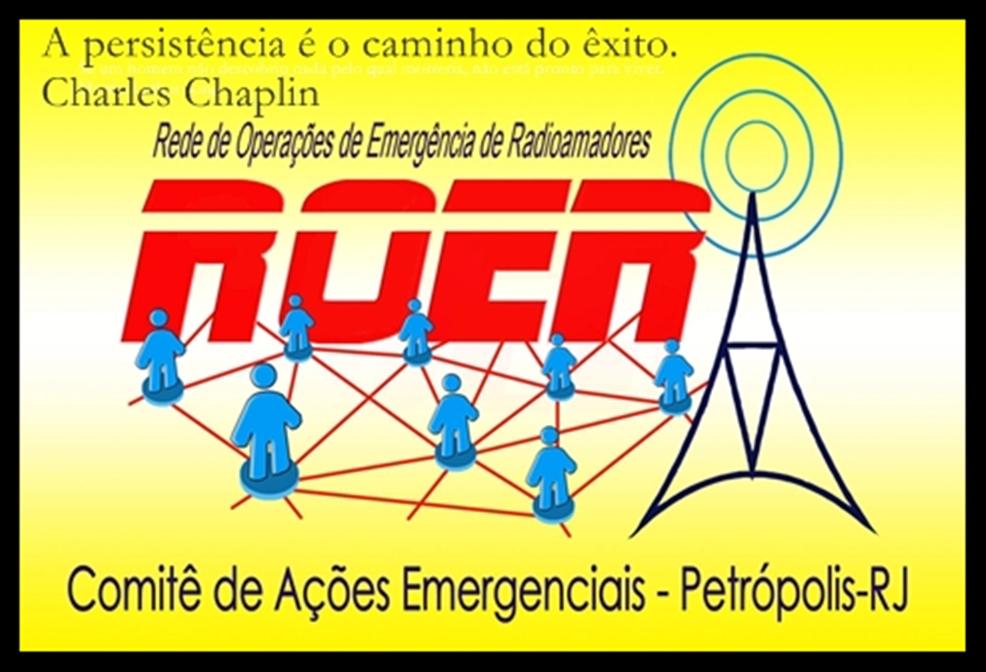 ROER-REDE DE OPERAÇÕES DE EMERGÊNCIA DE RADIOAMADORES